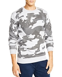 Altru Multi Pattern Camo Sweatshirt Bloomingdale's Exclusive Grey