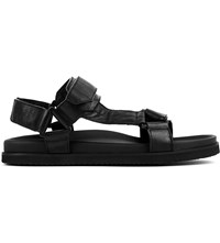 Joseph Adjustable Leather Sport Sandals 010Black
