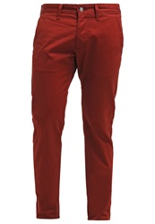 Edwin Chinos Terra Red