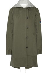 Thakoon Addition Convertible Washed Cotton Twill Coat