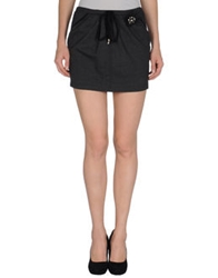 Just For You Mini Skirts Steel Grey