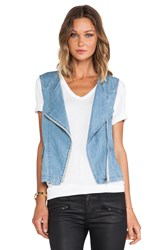 Sanctuary Denim Tomboy Vest Blue