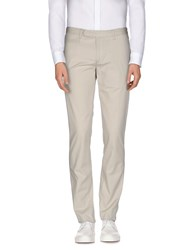 Brooksfield Trousers Casual Trousers Men Light Grey