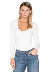 House Of Harlow X Revolve Bella Long Sleeve Bodysuit Ivory