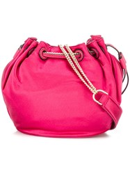 Diane Von Furstenberg Mini 'Love Power' Crossbody Bag Pink Purple