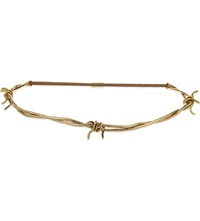 Jennifer Behr Barbed Wire Headwrap Gold
