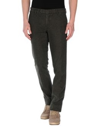 Santaniello And B. Casual Pants Dark Green