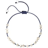 Estella Bartlett Heart Friendship Bracelet Navy
