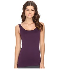 Only Hearts Club Delicious Long Line Low Back Tank Top Amethyst Women's Sleeveless Purple
