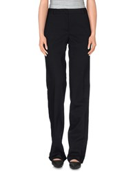 Kiltie Trousers Casual Trousers Women Black