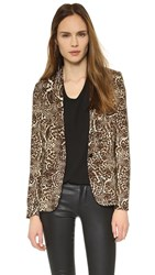 The Kooples Leopard Blazer