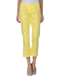 Tara Jarmon Casual Pants Yellow