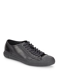 Frye Ryan Leather Sneakers Black