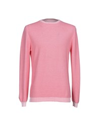 Jurta Knitwear Jumpers Men Pastel Pink