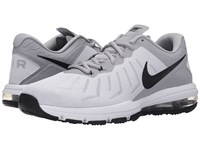Nike Air Max Full Ride Tr White Wolf Grey Metallic Silver Black Men's Cross Training Shoes Gray