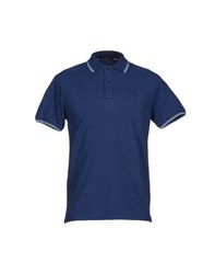 Seventy Topwear Polo Shirts Men Dark Blue