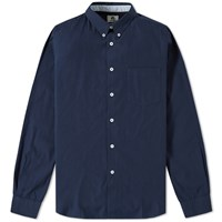 Paul Smith Tailored Fit Oxford Shirt Blue
