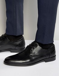 Aldo Kaoadia Leather Derby Shoes Black