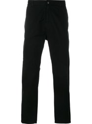 Lot 78 Lot78 Straight Leg Trousers Black