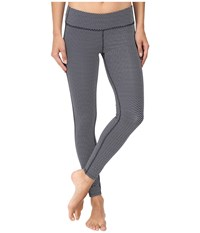 Carve Designs Reef Tights Anchor Chevron Women's Casual Pants Gray