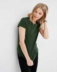 Asos The Ultimate Crew Neck T Shirt Forest Green