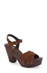 Women's Matisse 'Jackie' Platform Sandal Saddle Leather