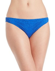 Polo Ralph Lauren Crochet Hipster Bikini Bottom Blue
