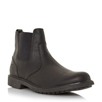 Timberland Heavy Round Toe Chelsea Boots Black