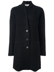 Michael Michael Kors Single Breasted Coat Black