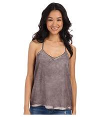 Rvca Fight Or Flight Tank Top Shark Women's Sleeveless Gray