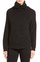 Nordstrom Women's Collection Rib Knit Cashmere Turtleneck