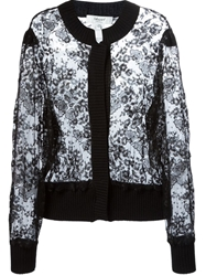 Blugirl Lace Cardigan Black