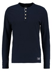 Abercrombie And Fitch Long Sleeved Top Chambray Blue