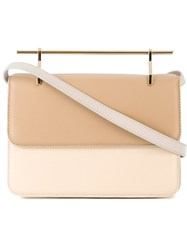 M2malletier Two Tone Bag Nude And Neutrals
