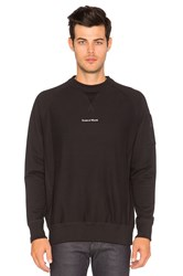 Raised By Wolves Micrologo Crewneck Black