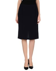 Diana Gallesi Skirts Knee Length Skirts Women Dark Blue