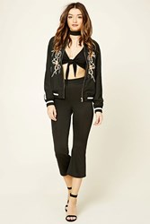 Forever 21 Cropped Flared Pants