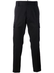 Dsquared2 Cargo Trousers Black