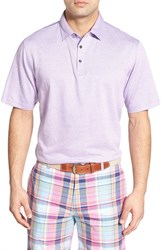 Men's Peter Millar Short Sleeve Polo Mirage