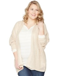 Wendy Bellissimo Maternity Plus Size Open Front Cardigan