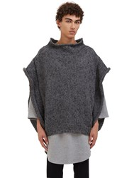 Von Sono Oversized Hand Knitted Sweater Grey