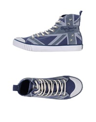 Pepe Jeans High Tops And Trainers Blue