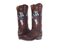 Old Gringo Cowgirl Guns Brass Women's Shoes Bronze