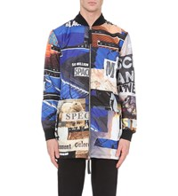 Blood Brother Descendant Graphic Print Shell Jacket Aop