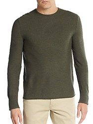 Rag And Bone Grayson Merino Wool Sweater Army Green