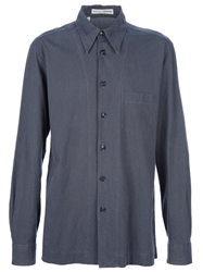 Dolce And Gabbana Vintage Classic Shirt Blue