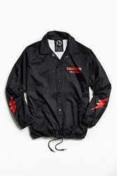 Urban Outfitters The Weeknd Starboy Graphic Coach Jacket Black