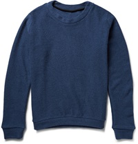 The Elder Statesman Herring Cashmere Sweater Blue