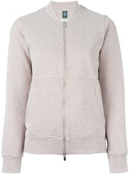 Eleventy Zip Up Bomber Jacket Nude And Neutrals