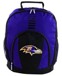 Forever Collectibles Baltimore Ravens Prime Time Backpack Team Color
